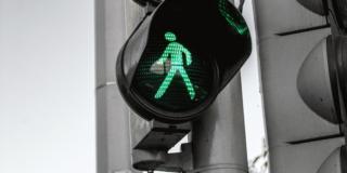 Traffic light display