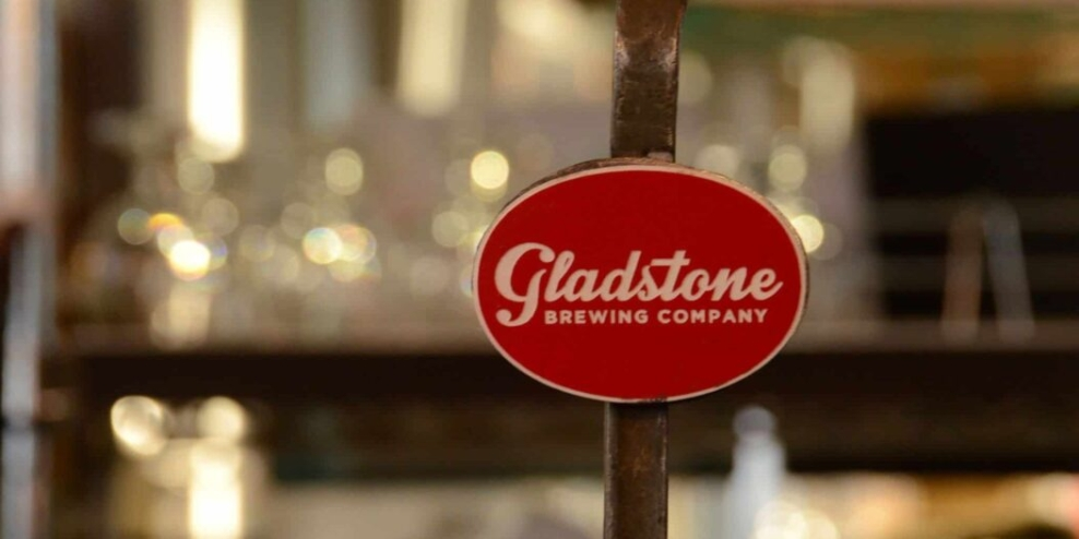 beer tap handle at Gladstone Brewing Company