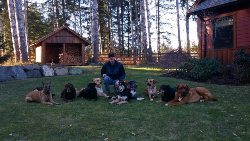 Ken Griffiths, known as the Comox Valley Dog Whisperer